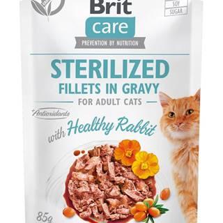 RIT CARE cat kapsa STERILISED  HEATHY rabbit - 85g