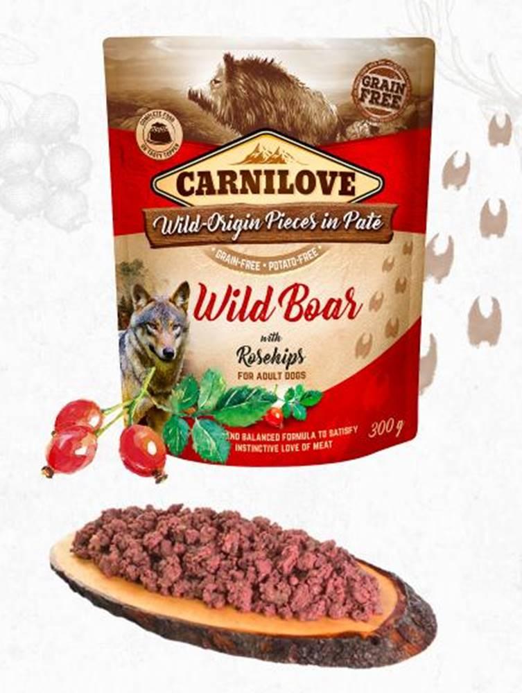Carnilove CARNILOVE dog  kapsa  PATÉ WILD BOAR/rosehips - 300g
