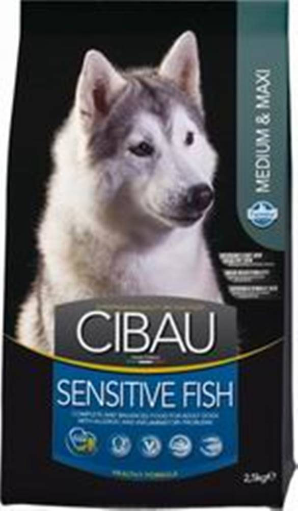 Cibau CIBAU SENSITIVE FISH/rice MEDIUM/MAXI - 2,5kg