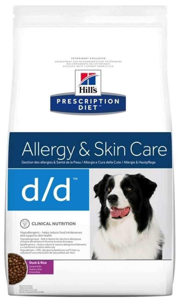 Hills Hills Canine  d/d duck/rice (dieta) - 2kg