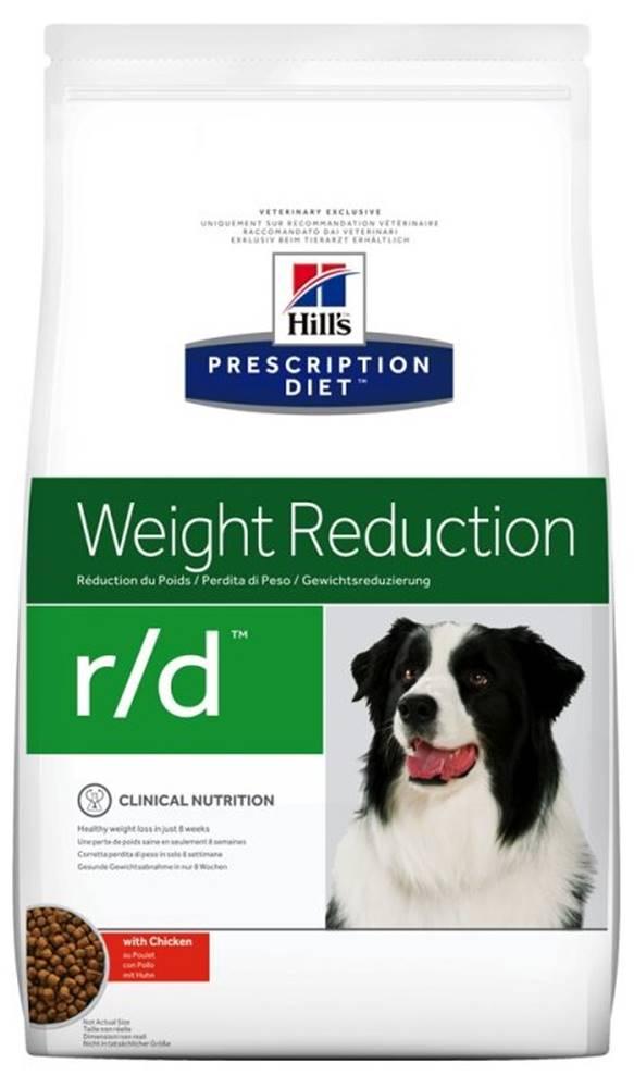 Hills Hills Canine  r/d (diéta) - 1,5kg
