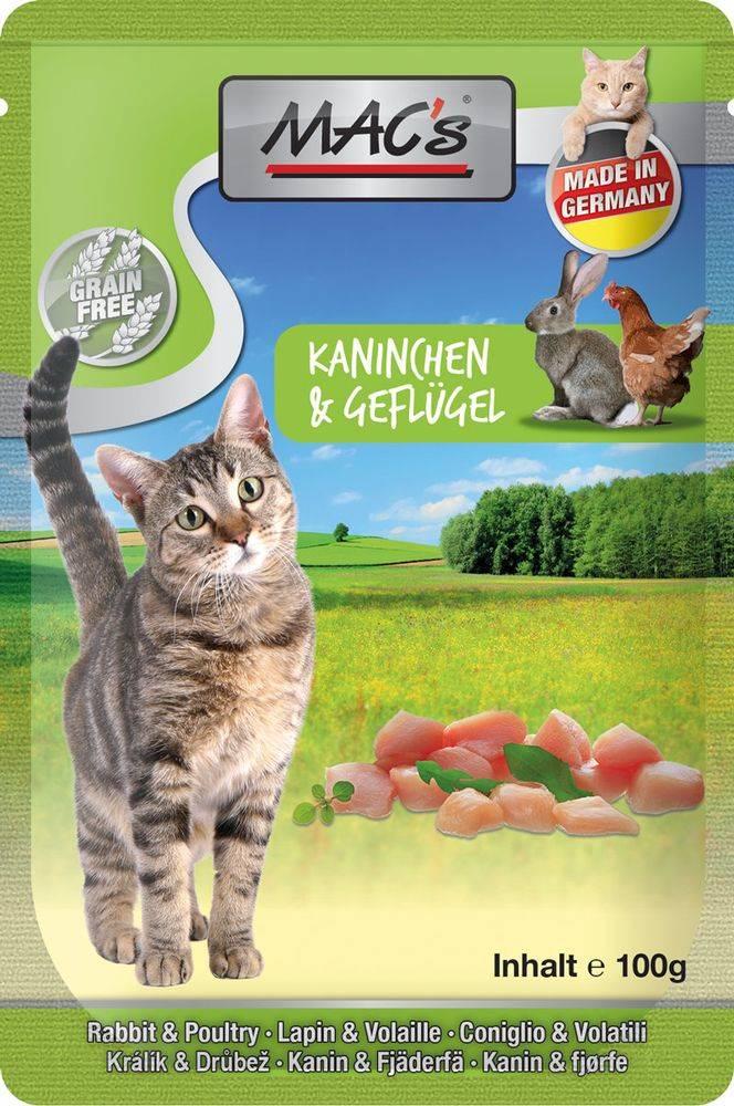 (bez zařazení) MACs  cat  kapsa KANINCHEN/GEFLUGEL - 100g