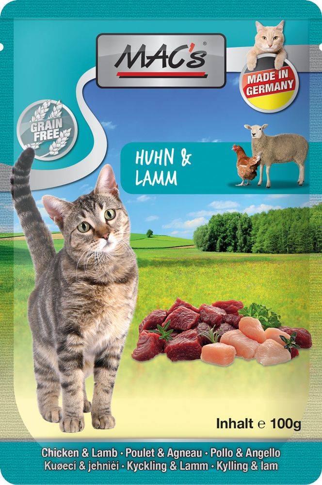 (bez zařazení) MACs  cat  kapsa HUHN/LAMM - 100g