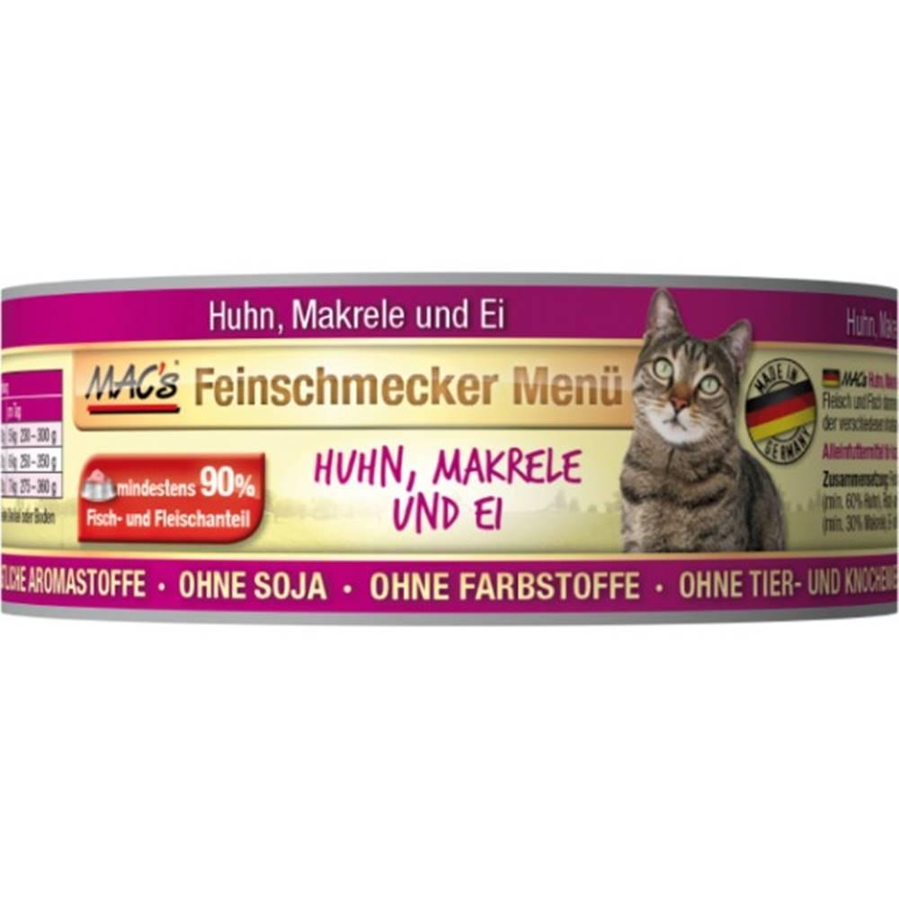 (bez zařazení) MACs  cat  konz. feinschmecker HUHN/MAKRELE - 100g