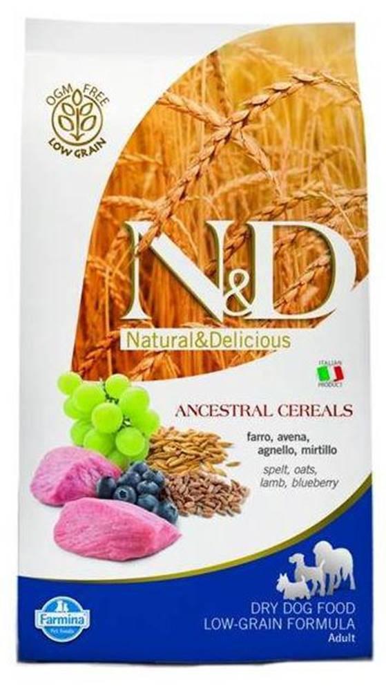 Natural&Delicious N&D dog LG ADULT MEDIUM LAMB / BLUEBERRY - 2,5kg