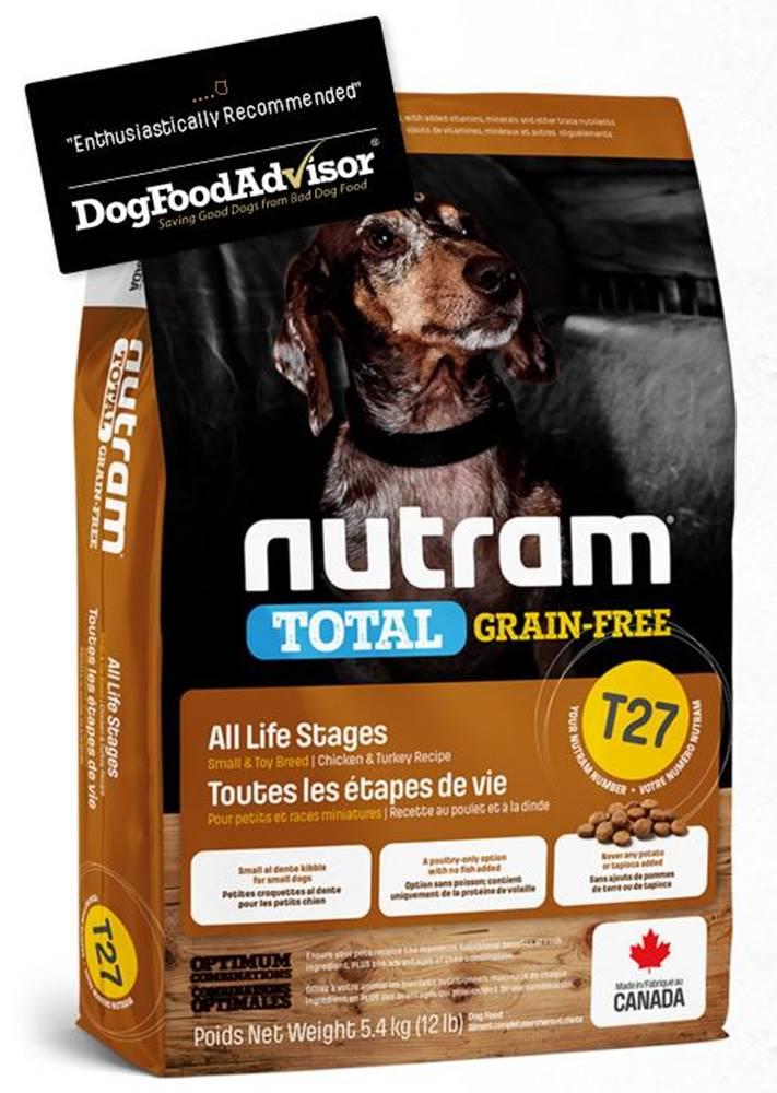 Nutram NUTRAM dog T27 - TOTAL GF SMALL chicken/turkey  - 2kg