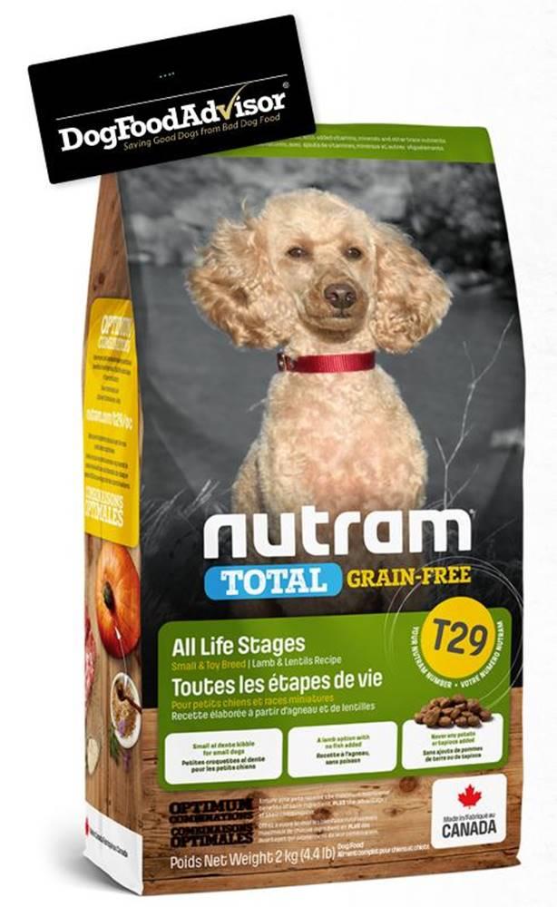 Nutram NUTRAM dog T29 - TOTAL GF SMALL lamb/lentils  - 2kg