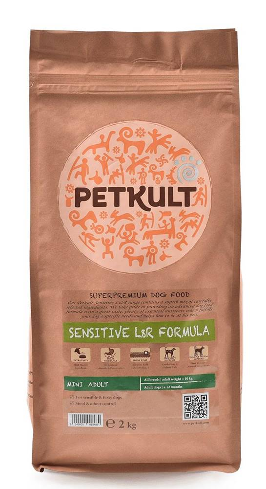 Petkult PETKULT dog  MINI ADULT lamb/rice - 2kg