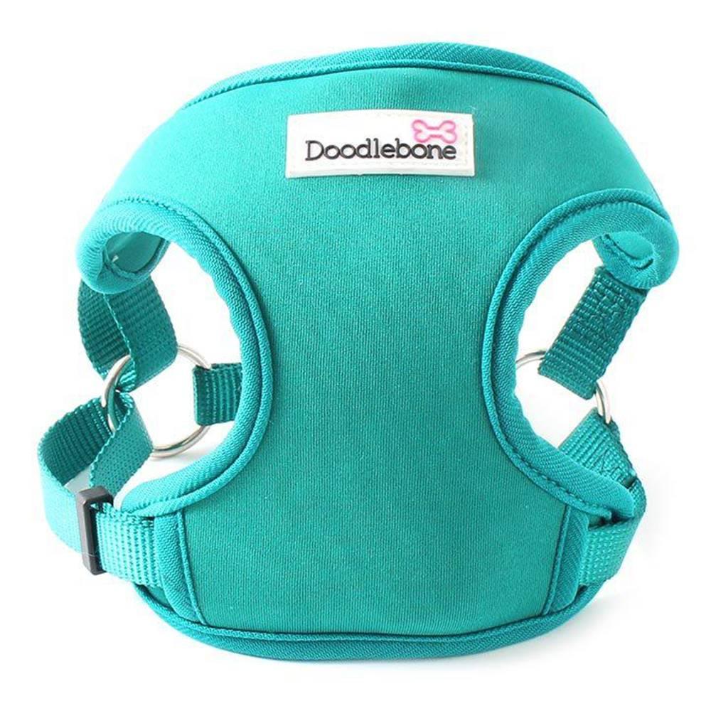 (bez zařazení) Postroj DOODLEBONE chladiaci modro-zelený - XS