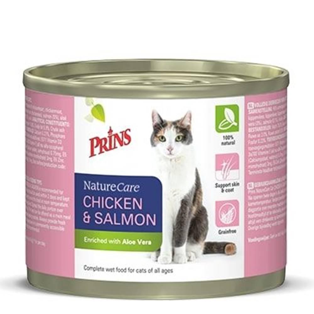 Prins PRINS cat konz. CHICKEN/salmon - 200g