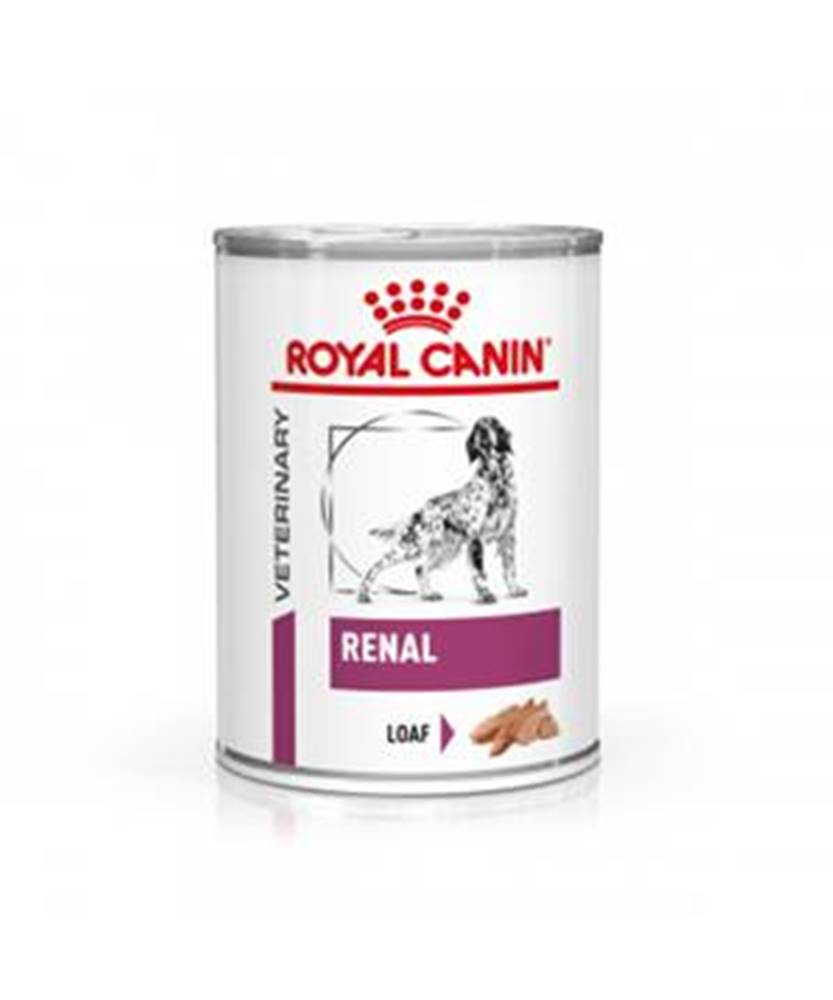 Royal Canin Royal Canin Veterinary Diet Dog RENAL konzerva - 410g