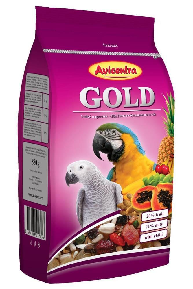 Avicentra Avicentra  GOLD  veľký papagáj - 850g