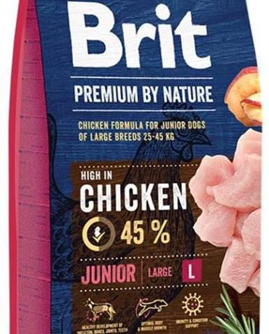BRIT dog Premium By Nature JUNIOR L - 3kg