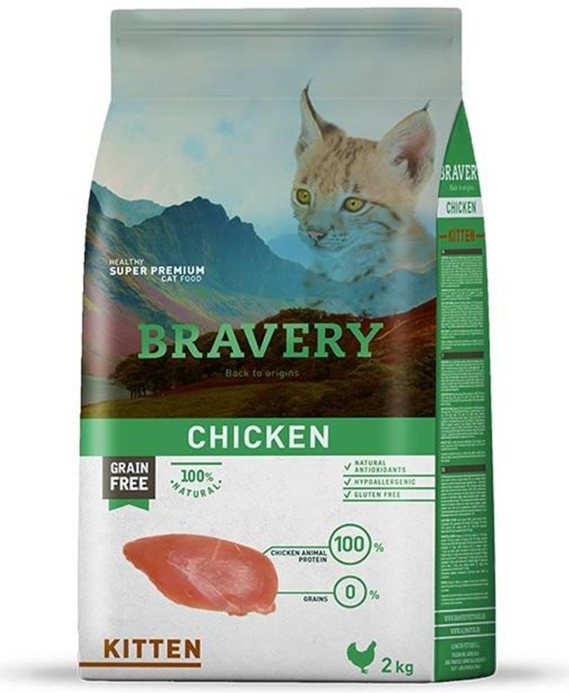 Bravery BRAVERY cat   KITTEN - 400g