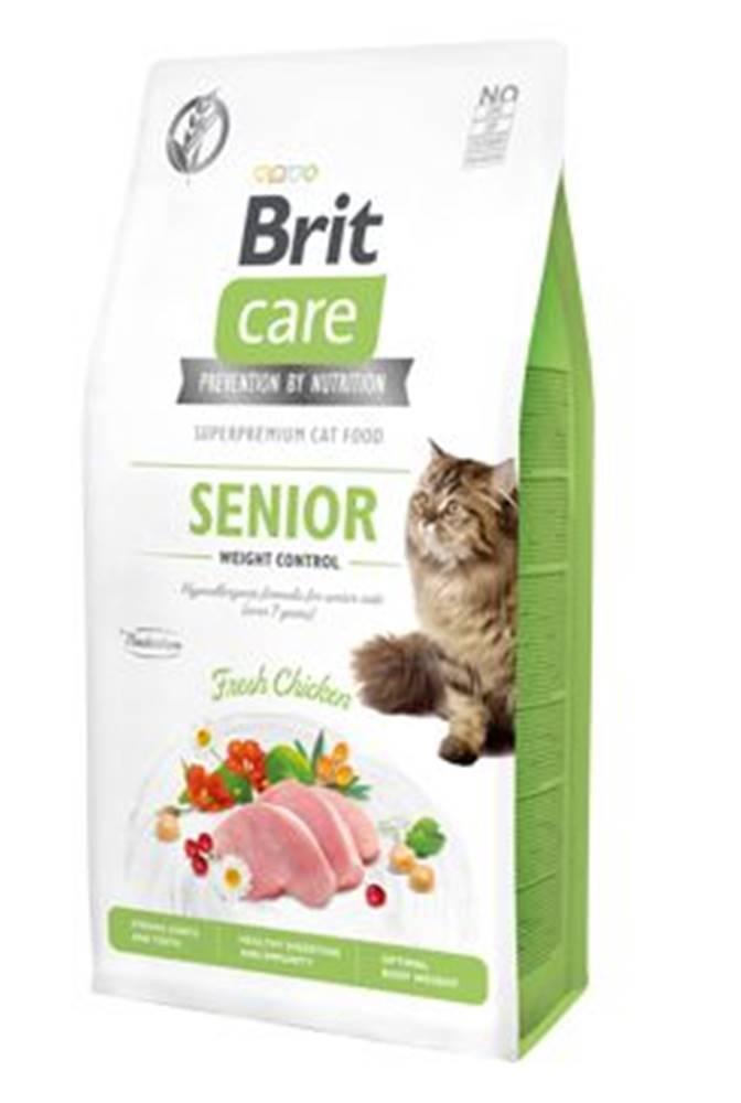 Brit Care BRIT CARE cat GF SENIOR weight control - 2kg
