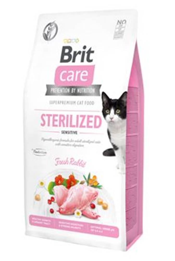 Brit Care BRIT CARE cat GF  STERILISED sensitive - 2kg