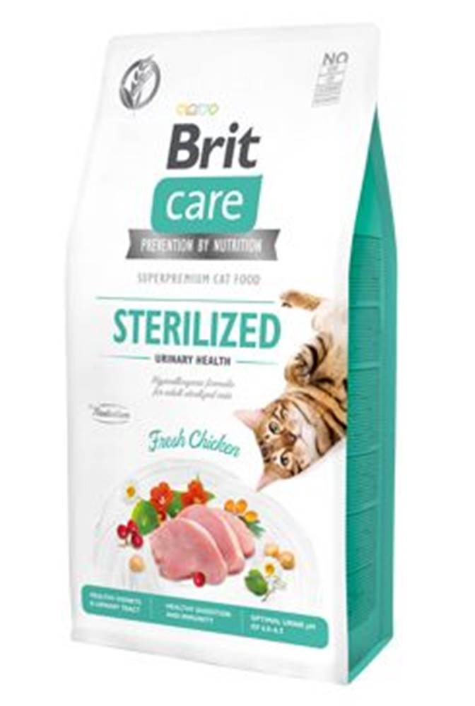 Brit Care BRIT CARE cat GF  STERILISED urinary - 2kg