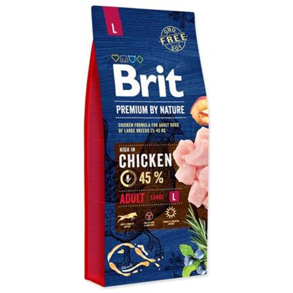 Brit BRIT dog Premium by Nature ADULT L - 3kg