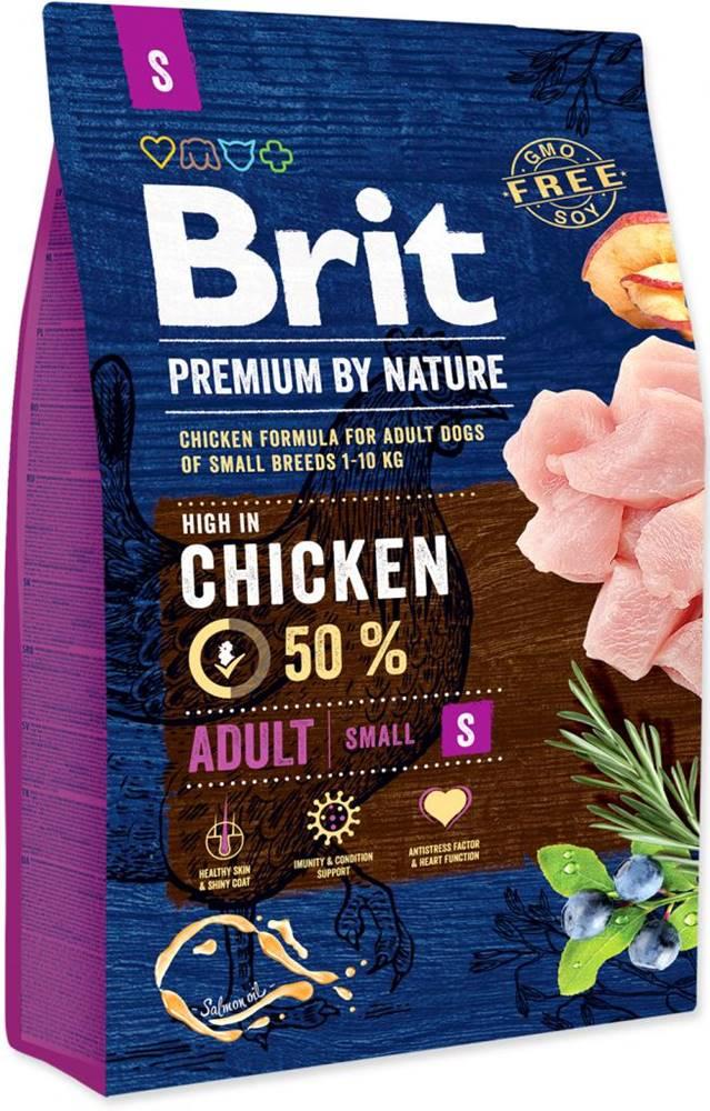 Brit BRIT dog Premium By Nature ADULT S - 1kg