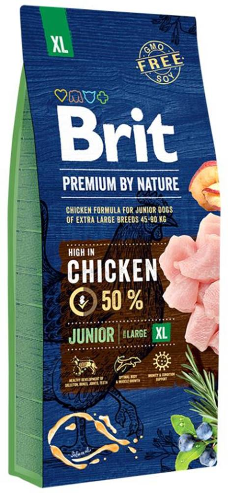 Brit BRIT dog Premium By Nature JUNIOR XL - 3kg