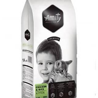 AMITY premium cat   KITTEN chicken/rice - 1,5 kg
