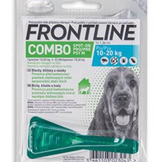 Antipararazitný spot-on FRONTLINE COMBO pre psov - S (2-10kg)