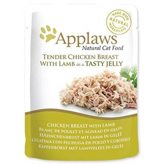 APPLAWS kapsa CHICKEN/LAMB v želé - 70g