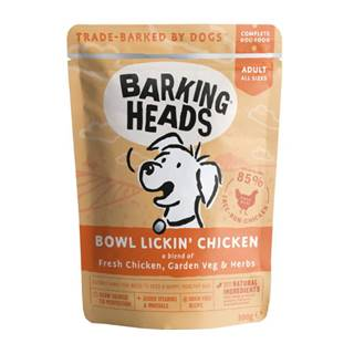 Barking Heads    kapsa BOWL LICKIN chicken    - 300g
