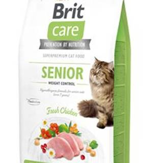 BRIT CARE cat GF SENIOR weight control - 2kg
