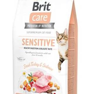 BRIT CARE cat GF  SENSITIVE - 2kg