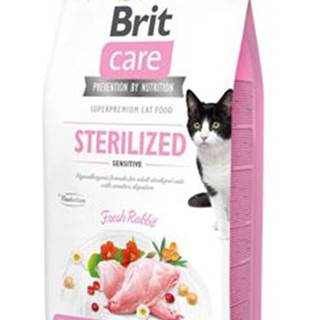 BRIT CARE cat GF  STERILISED sensitive - 2kg