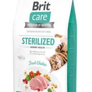 BRIT CARE cat GF  STERILISED urinary - 2kg