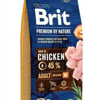 BRIT dog Premium By Nature ADULT M - 3kg