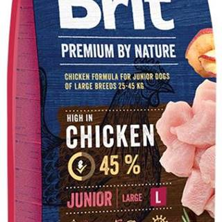 BRIT dog Premium By Nature JUNIOR L - 3kg