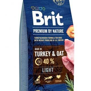 BRIT dog Premium by Nature LIGHT - 3kg