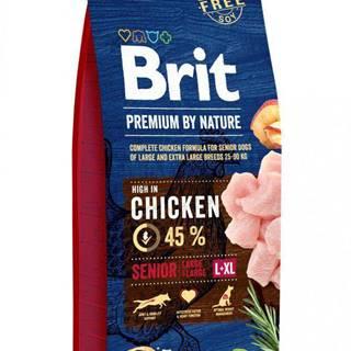 BRIT dog Premium By Nature SENIOR L+XL - 3kg