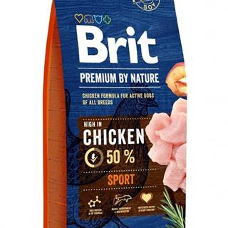 BRIT dog Premium By Nature SPORT - 3kg