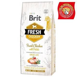 BRIT FRESH ADULT chicken/potato - 2,5kg
