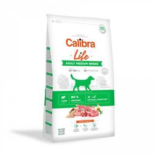 CALIBRA dog LIFE ADULT medium LAMB - 2,5kg