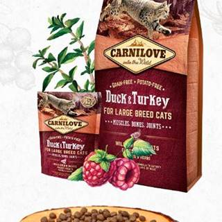 CARNILOVE cat  ADULT LARGE duck/turkey - 400g