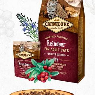 CARNILOVE cat  ADULT reindeer - 400g