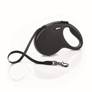 Flexi CLASSIC páska 5m / 25kg - Čierné