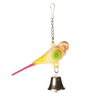 HRAČKA vtáky ANDULKA / zvonček - 9cm