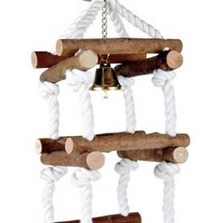 HRAČKA  vtáky veža so zvončekom - 34cm