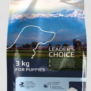 LEADER´S CHOICE dog  PUPPY fish - 3kg