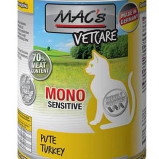 MACs  cat  konz. MONO sensitive PUTE/turkey - 200g