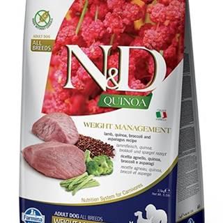 N&D dog GF QUINOA weight management LAMB/BROCCOLI - 800g