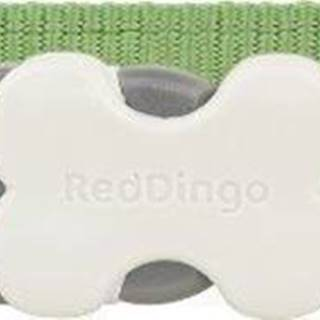 Obojek RD reflective ZIGGY/green - 1,2/20-32cm