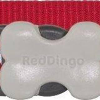 Obojek RD reflective ZIGGY/red - 1,2/20-32cm