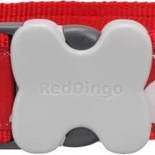 Obojek RD White Spots on Red - 1,2/20-32cm